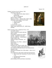 Lecture 2 notes, Everyday life in 18th-19th century art