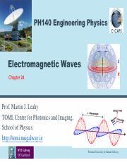 POLARIZED ELECTROMAGNETIC WAVES 246 Polarization In