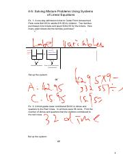 4-5 - Solving Mixture Problems Using Systems of Linear Equations (2).pdf