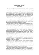 bryan aubrey critical essay on east of eden