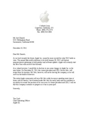 Final Business Letter