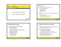 Class 9 Equity security analysis 4-slide