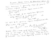 Fourier Series Additional Material