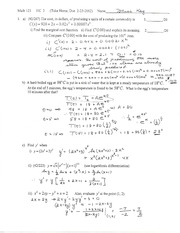 Quiz on Applications of Derivatives