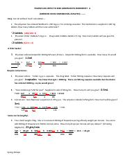 Math Worksheet A - Solutions