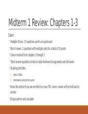 Midterm 1 Review.pptx