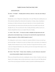 English Literature Final Exam Study Guide-3