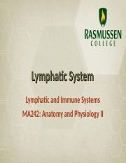 Module 04_Lymphatic System.ppt