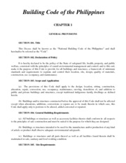 Building Code of the Philippines(1)