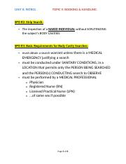 Unit 8 - Topic 9 Booking & Handling SPOs.docx