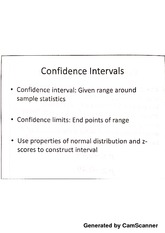 Confidence Interval and Recidivism