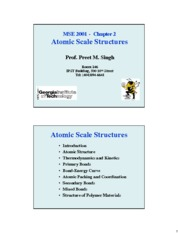 Chapter2-Atomic+Scale+Structures