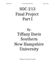 SOC 213 Final Project Part I.docx