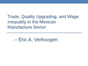 29 - Trade quality upgrading wage inequality