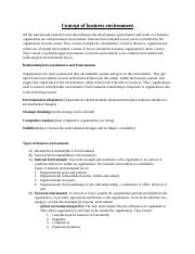 Chapter-4 (Concept of business environment).docx