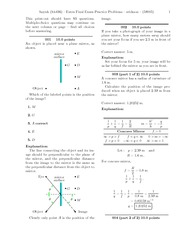 Extra Final Exam Practice Problems-solutions
