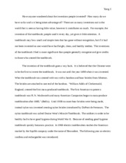 Katherine Yang English 1a Final Essay