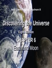 DTU 8e Lecture PPT Chap 6 Earth and Moon v2.ppt