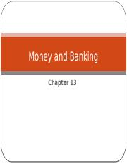 Chapter 13  - Money and Banking.pptx