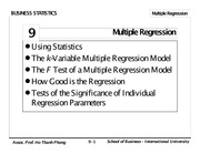Chapter 11 - Multiple Regression