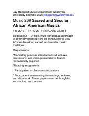 1179-jhoggard-010658-Music 269 Sacred and Secular African and African American Musics Fall 2017.pdf