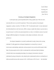 SociologyWritingAssignment1