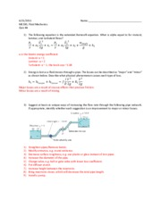 fluid mechanics ii exam 2012 Fluid mechanics for chemical engineers  algorithms for fluid flow through pipe type i, type ii and type iii problems  fluid-mechanics-2012pdf.