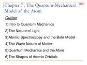 Chapter 7- Light and quantum numbers w solns
