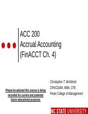 #04 FinCh4 MOODLE ACC200 Accrual Accounting - Fall 2016