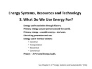 Energy 03 What do we use energy for(1)