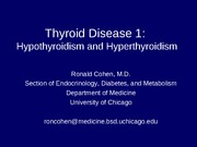 Thyroid Disease 1(2011)