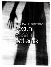 ABCs Caring for sexual assault pts