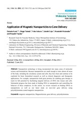 Drug delivery_magnetic nanoparticle_review_2011