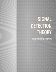 Signal Detection Theory.pptx