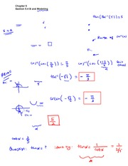 Section 5 Lecture on Precalculus
