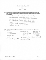 PHYS 122 quiz 1 solutions