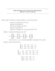 Midterm 1 Practice Problems