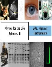 20  Optical Instruments and Vision - postclass