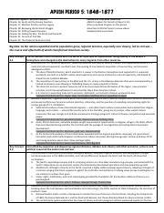 Period 5 Exam Review Sheet pdf - APUSH PERIOD 5 1848-1877