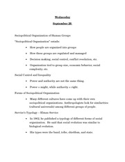 ANTH sept 28 class notes