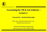 2.0 Accounting OilGas