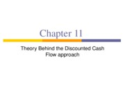 11 - Discounted Cash Flow Approach - Theory