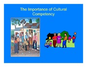 Importance of Cultural Competency Slides