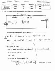 ENGR 210 Fall 2016 Quiz 1 Solutions