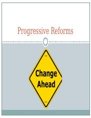 Progressive Reforms-APUSH.ppt