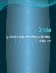 Dc motor project2 (3).pptx