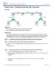11.3.2.2 Packet Tracer - Test Connectivity with Traceroute.pdf