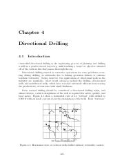 Lecture Notes - Directional Drilling