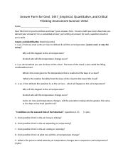 Answer Form for Geol 1447_Empirical Quantitative and Critical Thinking.docx