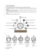 Ux And Persona Docx Ux Creating A Persona What Is User Experience User Experience Refers To How Pleasing A Website Is To The Person Using It Persons Course Hero